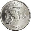 2002-D Lousiana Quarter Brilliant Uncirculated Image 1