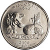 2004-D Wisconsin Quarter Brilliant Uncirculated Image 1