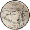 2005-P Oregon Quarter Brilliant Uncirculated Image 1