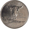 2007-P Montana Quarter Brilliant Uncirculated Image 1