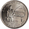 2009-P Washington DC Quarter Brilliant Uncirculated Image 1