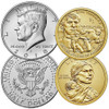 2018 P & D Kennedy Half Dollar & Native American Dollar Set Image 1