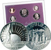 FREE Modern Proof Set with a Statue of Liberty Half Dollar Proof