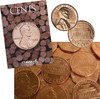 25 Different Brilliant Uncirculated  Lincoln Memorial Cents with Folder