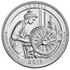 2019-D Lowell National Historical Park Quarter Brilliant Uncirculated Image 1