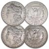 1902-P & 1904-P Morgan Silver Dollar Pair Extra Fine