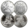 1992-D Olympic Baseball & 1997-S Jackie Robinson Silver Dollar Pair Brilliant Uncirculated