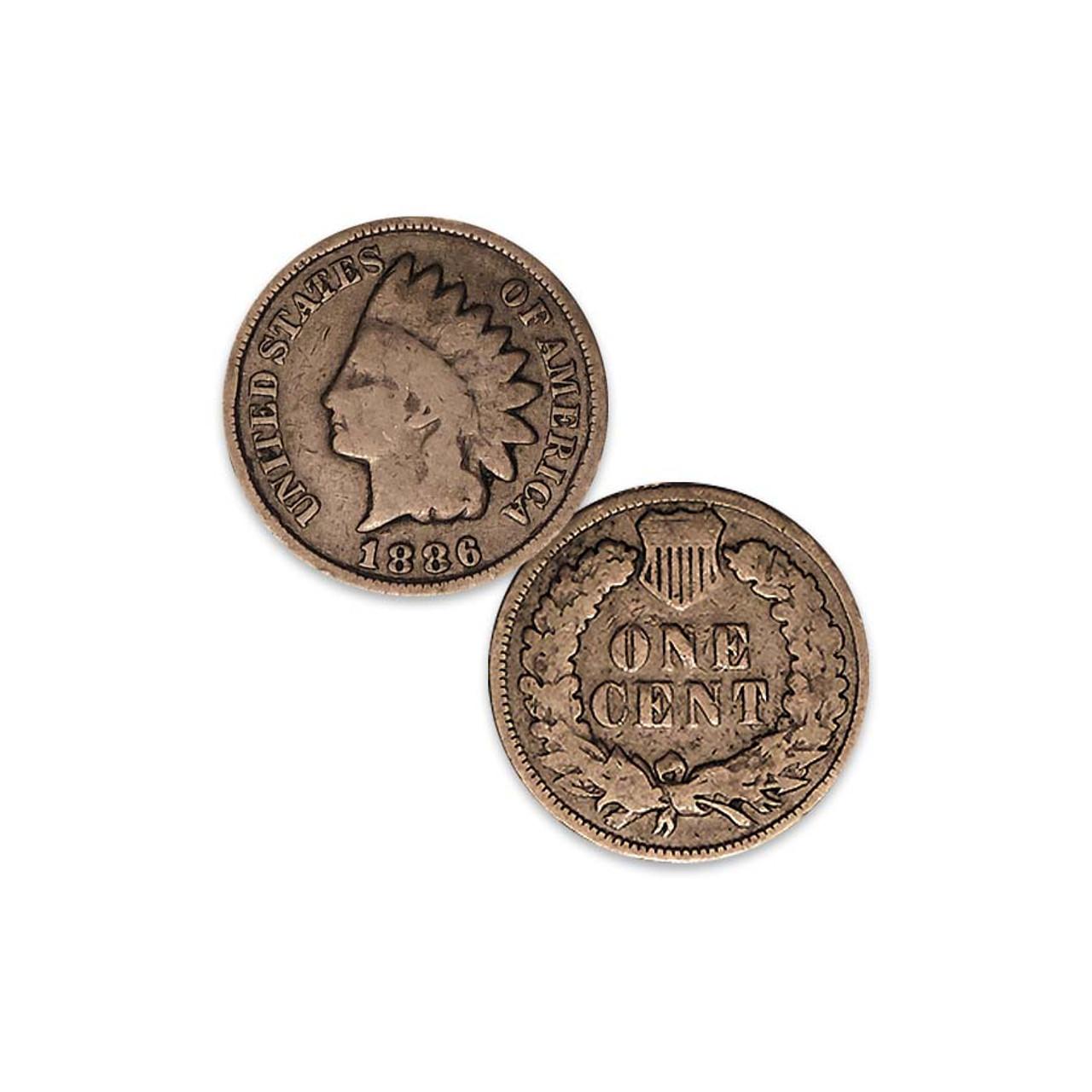 1886 Indian Head Cent Type II Good