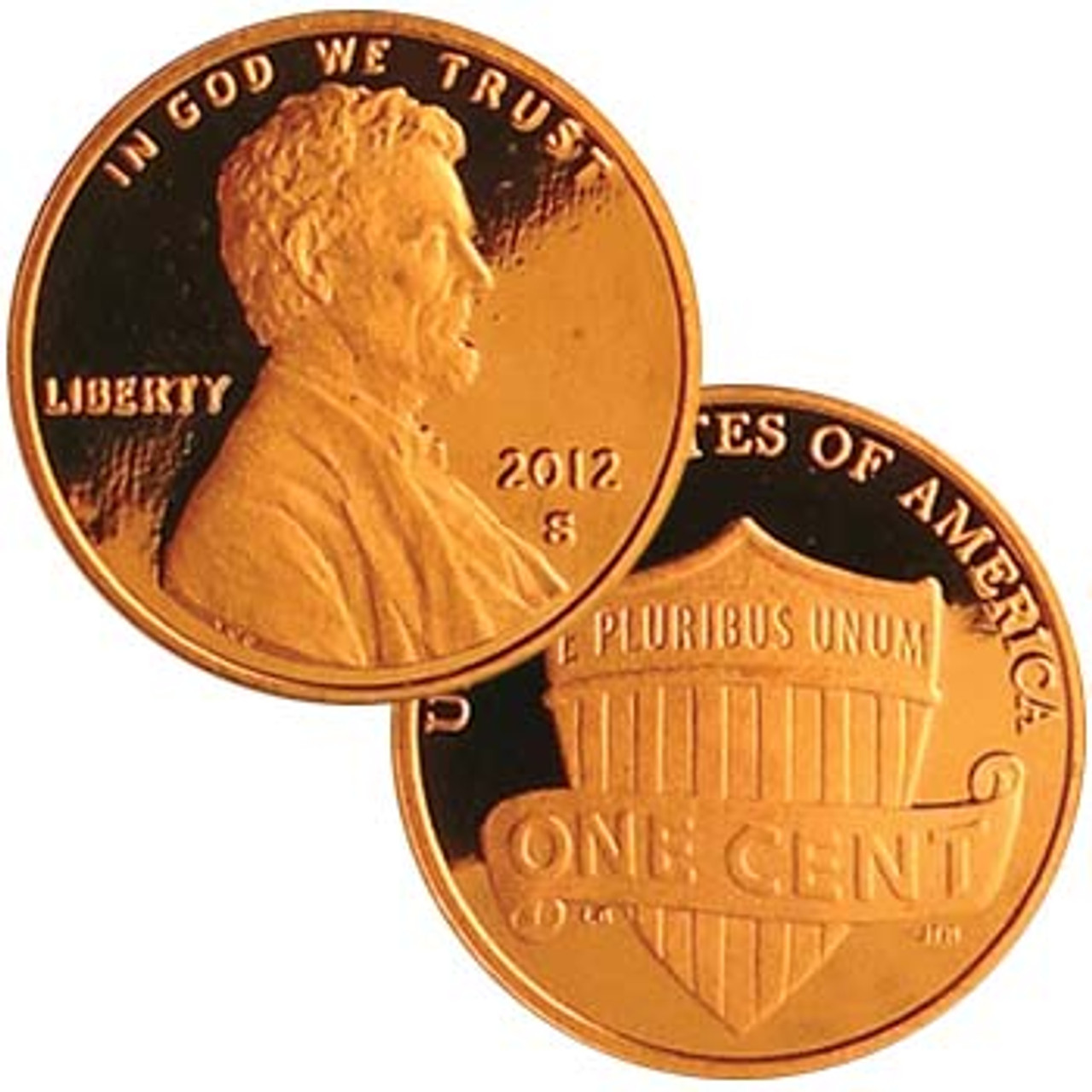U.S. Lincoln Cent 2012-S Proof
