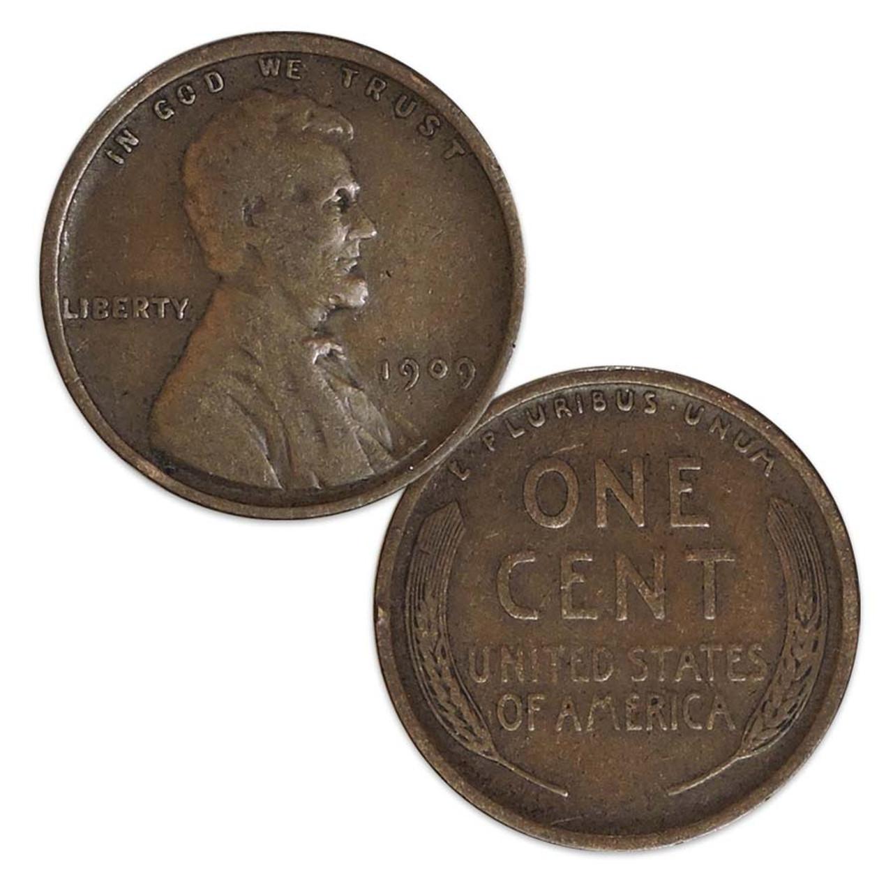 1909-P Lincoln Cent Fine Image 1