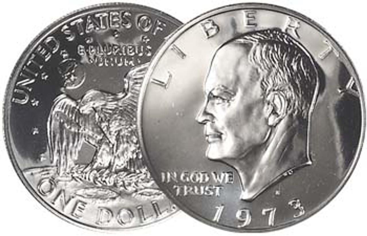 1973-S Eisenhower Dollar Proof Image 1