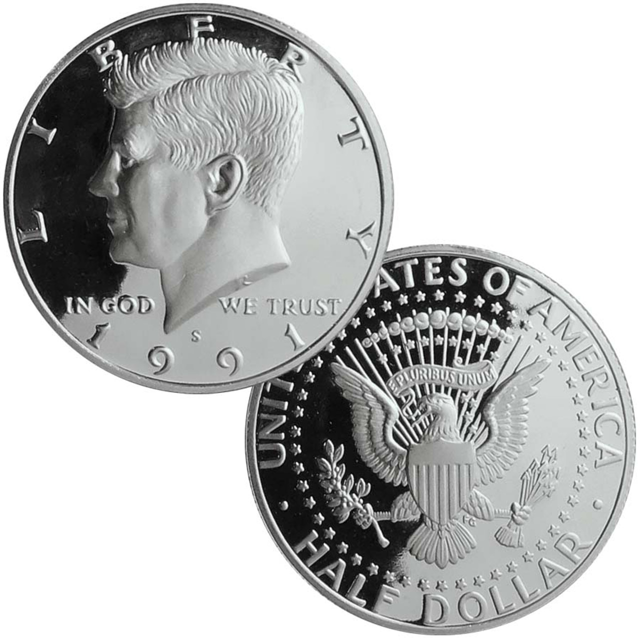 1991-S Kennedy Half Dollar Proof Image 1