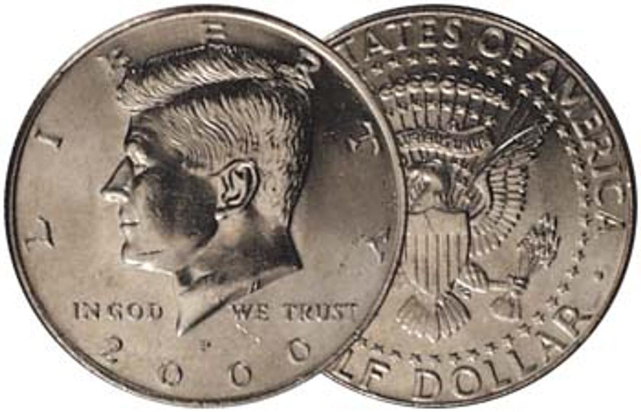 2000-P Kennedy Half Dollar Brilliant Uncirculated Image 1