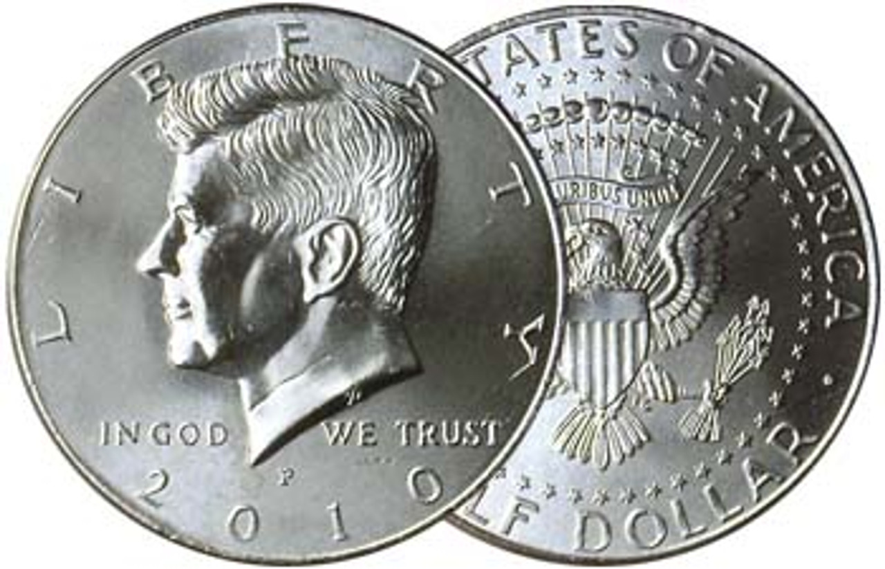 2010-P Kennedy Half Dollar Brilliant Uncirculated Image 1