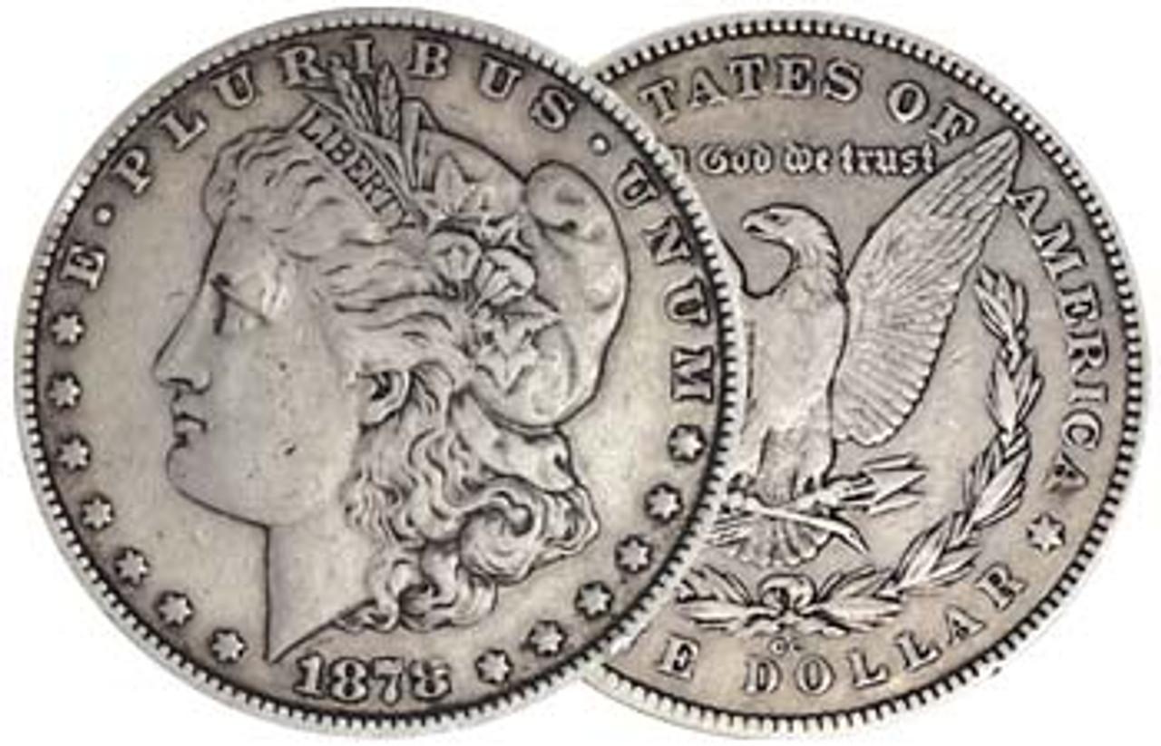 1878-CC Morgan Silver Dollar Very Fine Image 1