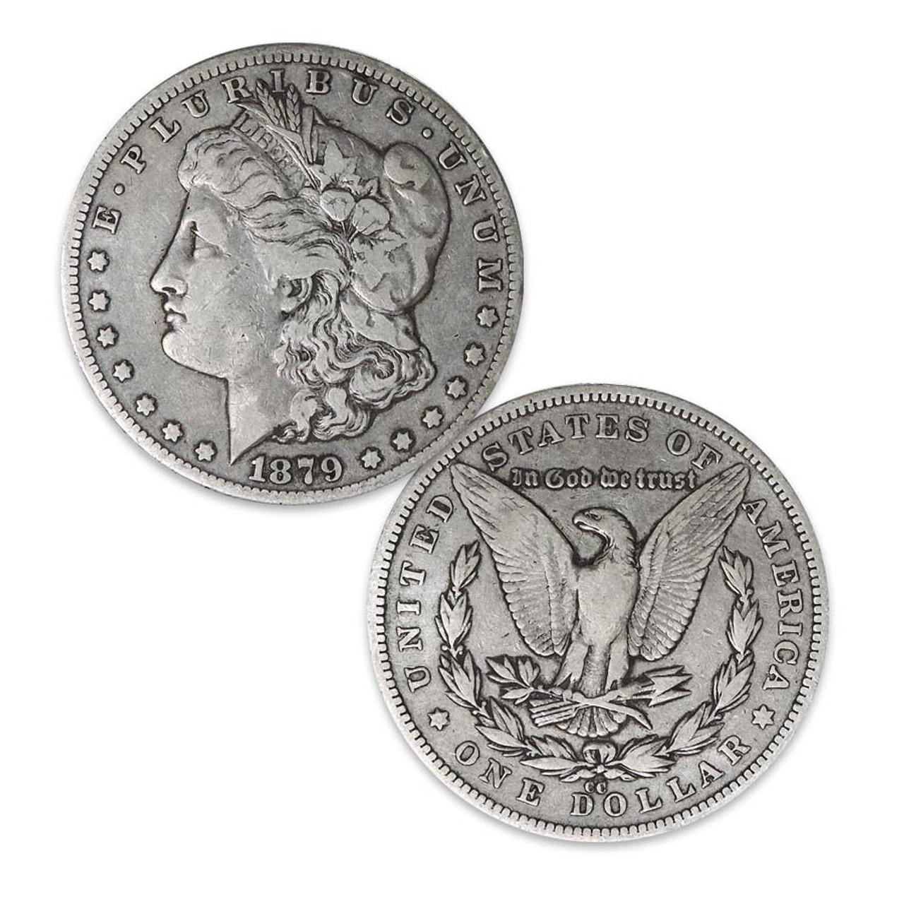 1879-CC Morgan Silver Dollar Very Fine