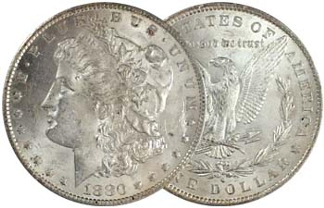 1880-O Morgan Silver Dollar Brilliant Uncirculated Image 1