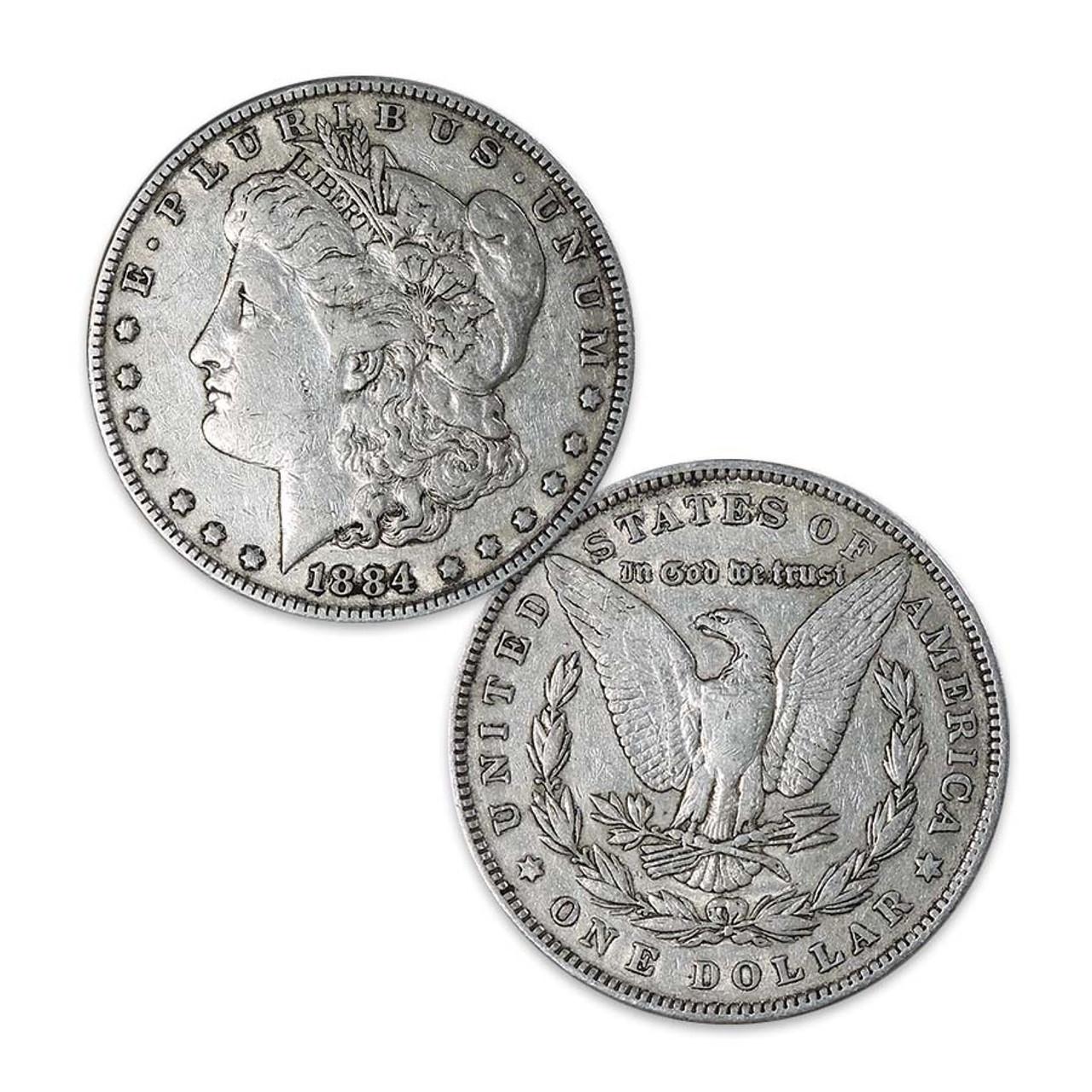 1884-P Morgan Silver Dollar Very Fine