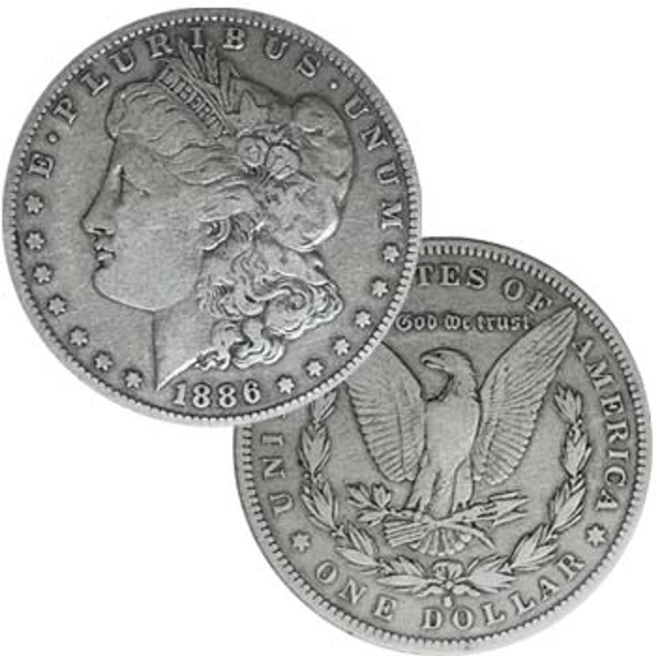 1886-S Morgan Silver Dollar Very Fine Image 1