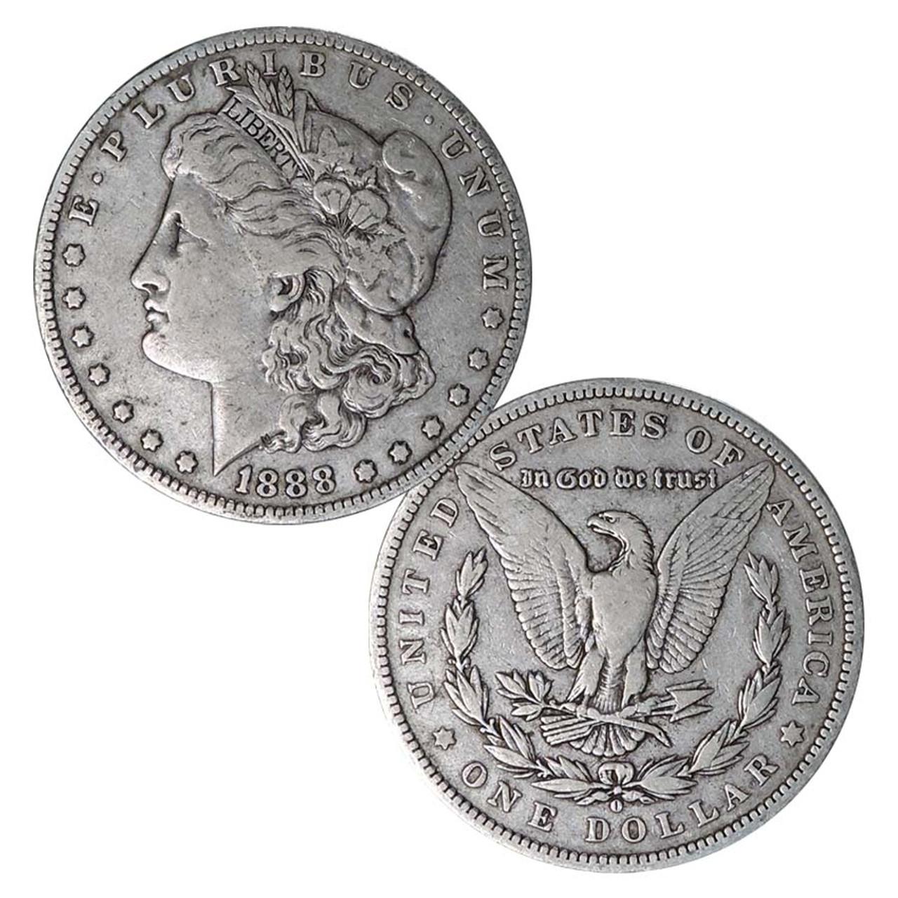 1888-O Morgan Silver Dollar Very Fine Image 1