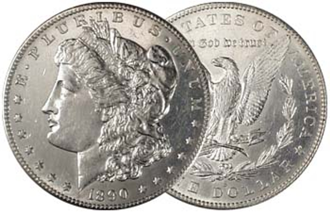 U.S. Morgan Silver Dollar 1890-S About Uncirculated