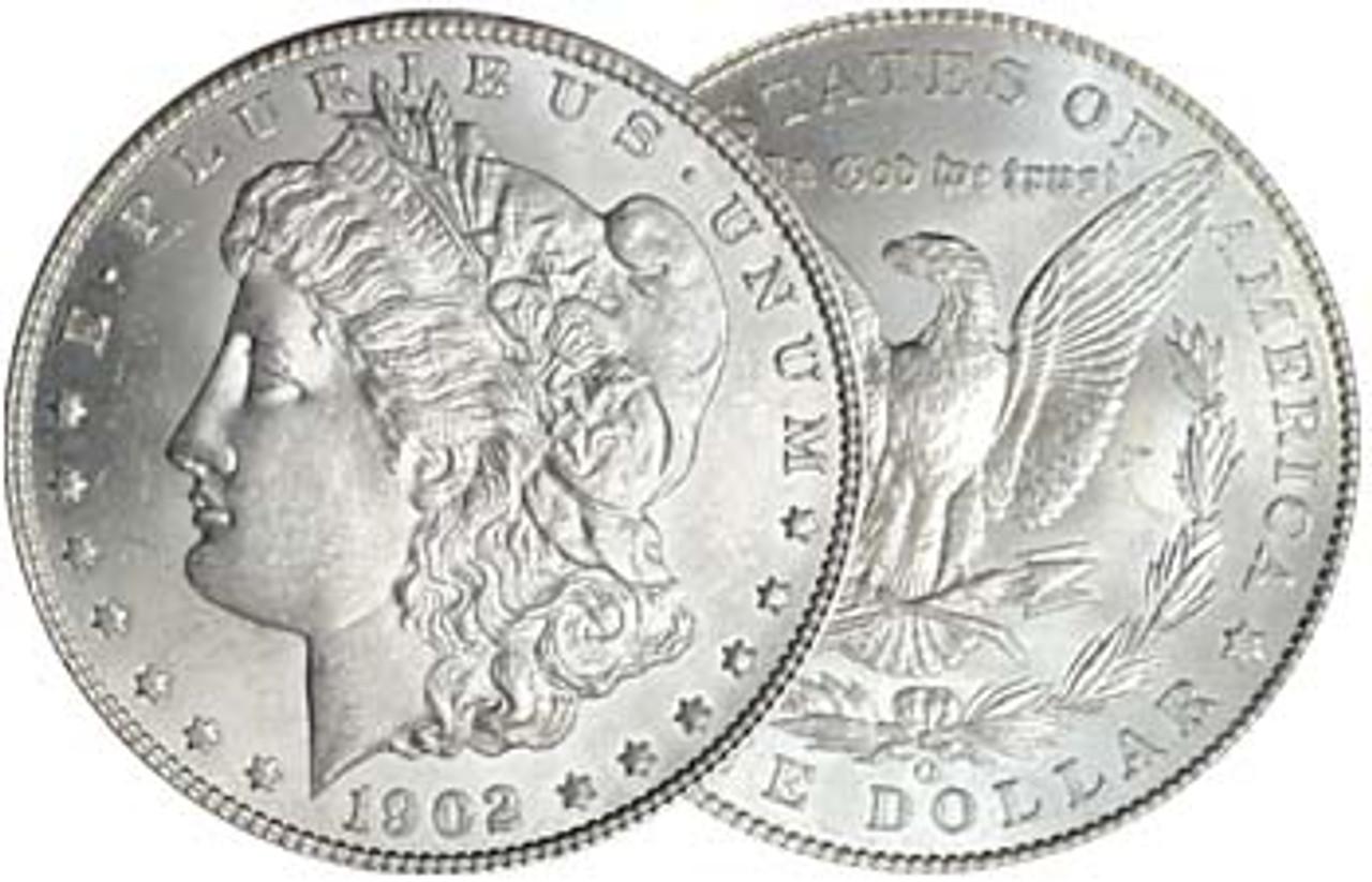 1902-O Morgan Silver Dollar Brilliant Uncirculated Image 1