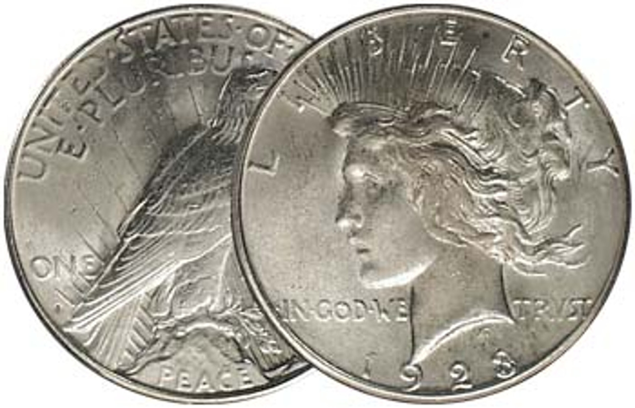 1923-S Peace Silver Dollar Brilliant Uncirculated Image 1