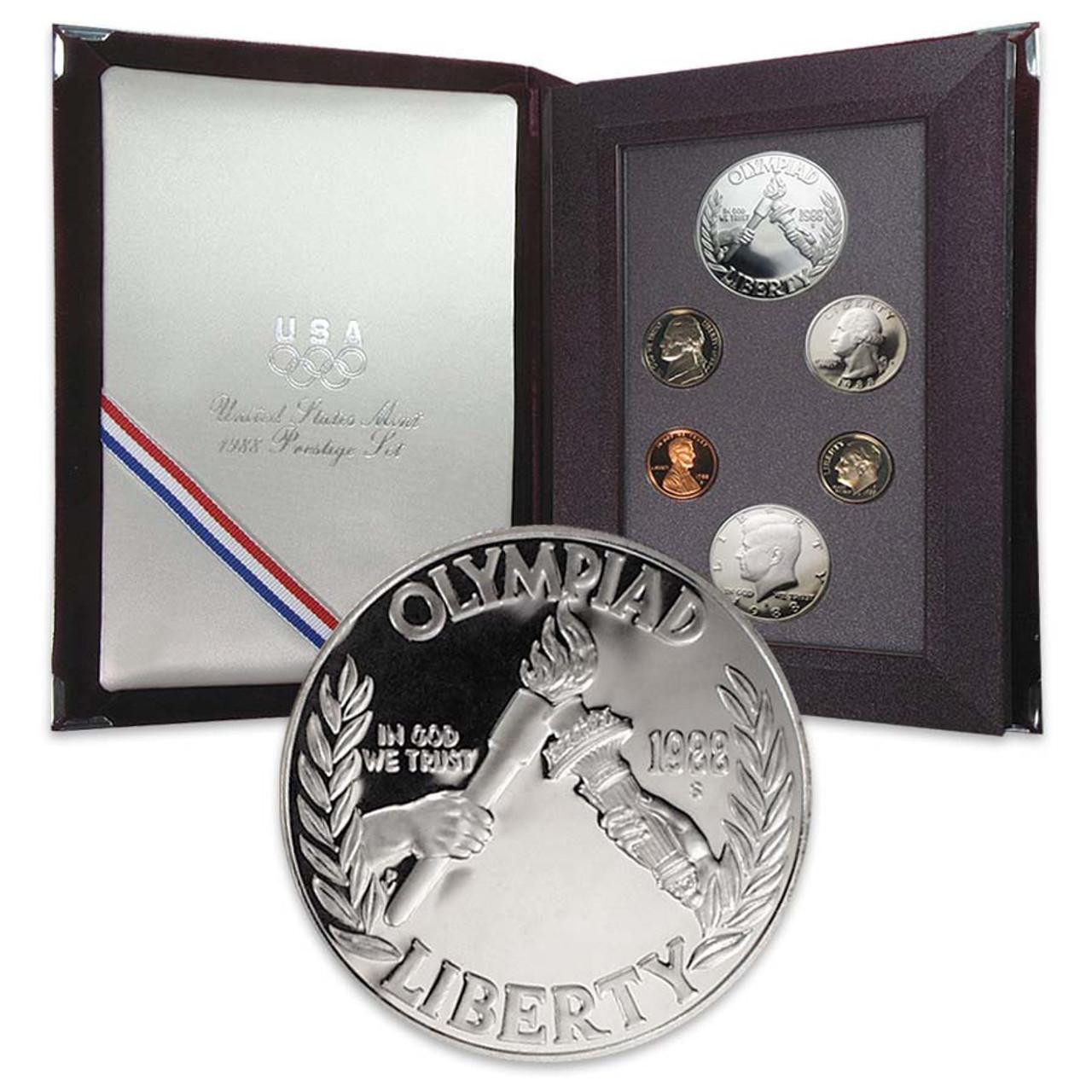 1988 Prestige Proof Set 6 Coins