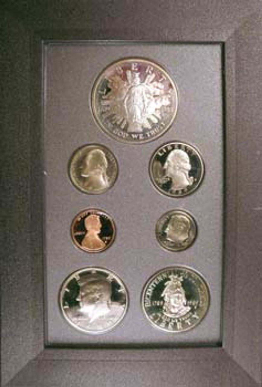 1989 Prestige Proof Set 7 Coins Image 1