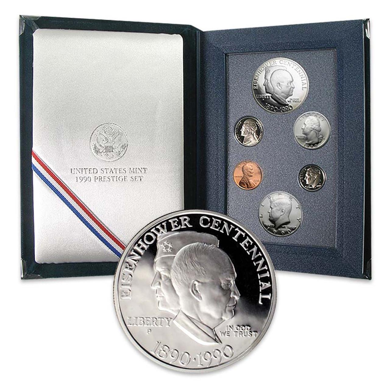 1990 Prestige Proof Set 6 Coins