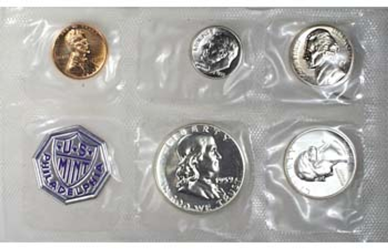 1959 Proof Set 5 Coins Image 1