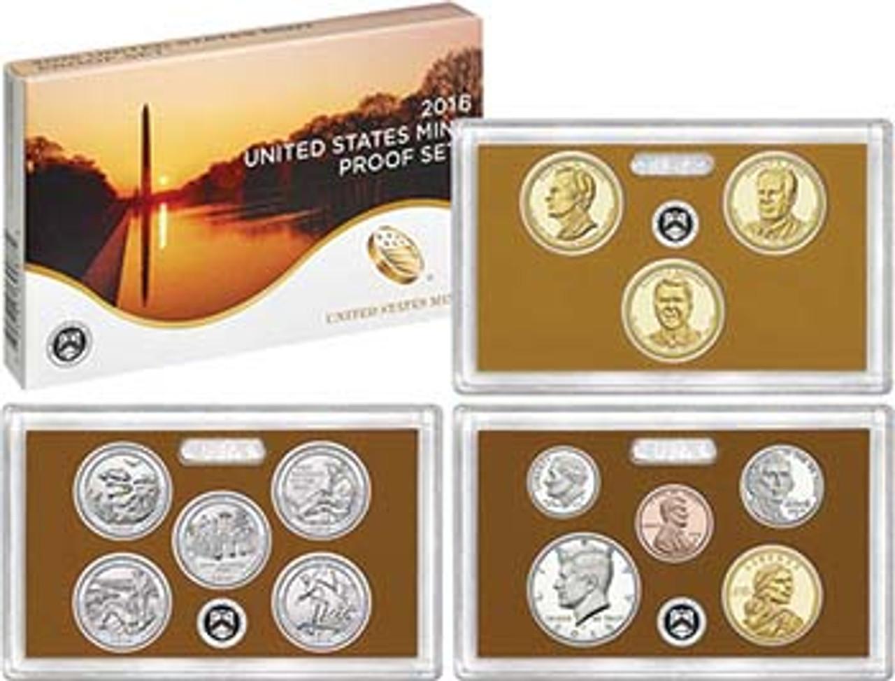 2016 Proof Set 13 Coins Image 1