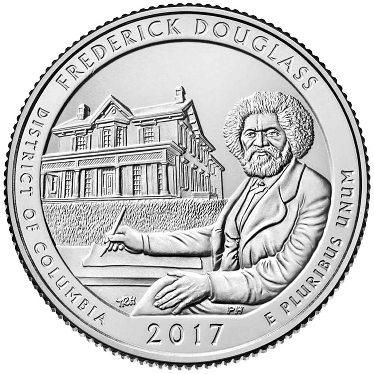 2017-P Frederick Douglass National Historic Site Quarter Brilliant Uncirculated Image 1