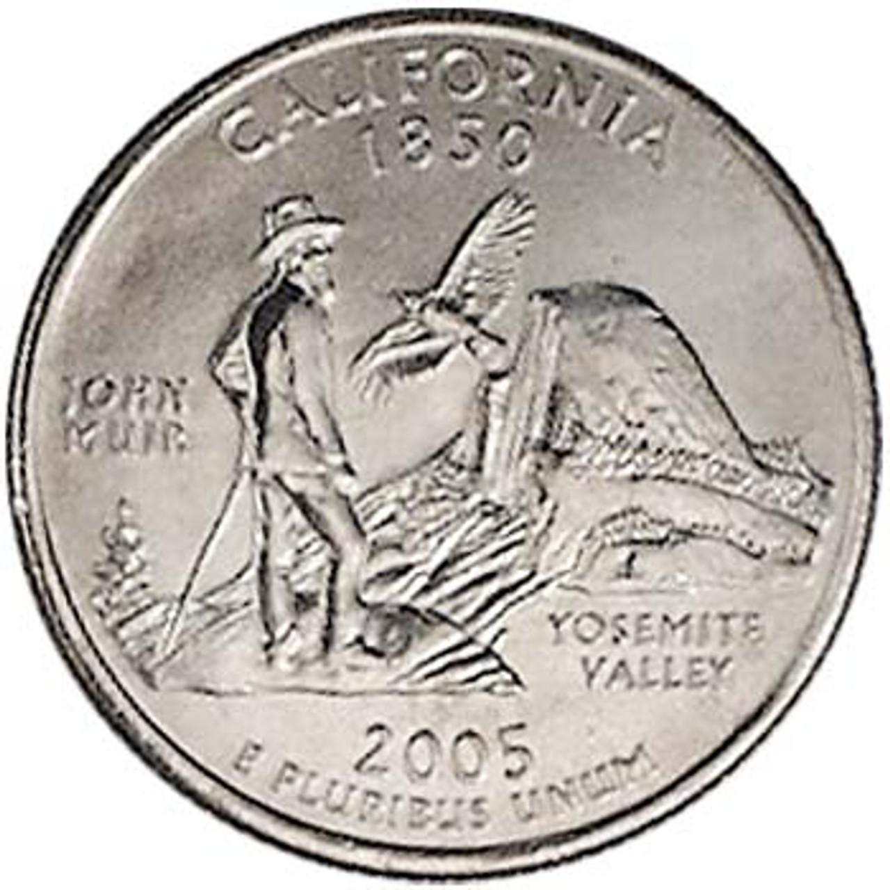 2005-D California Quarter Brilliant Uncirculated Image 1