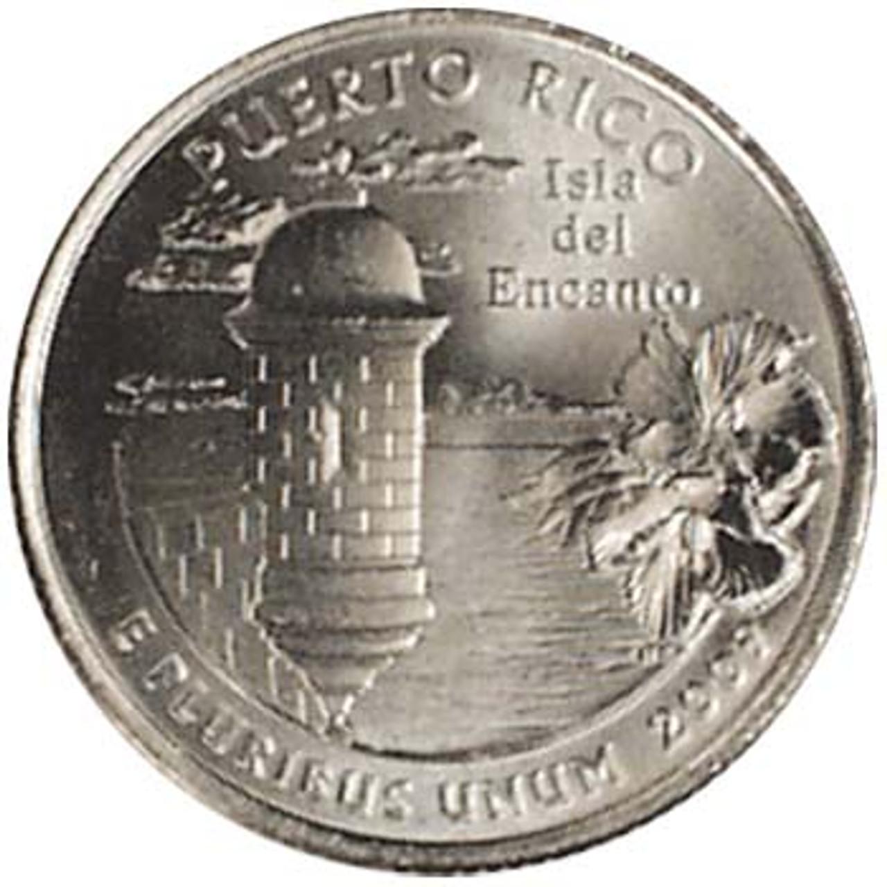 2009-P Puerto Rico Quarter Brilliant Uncirculated Image 1