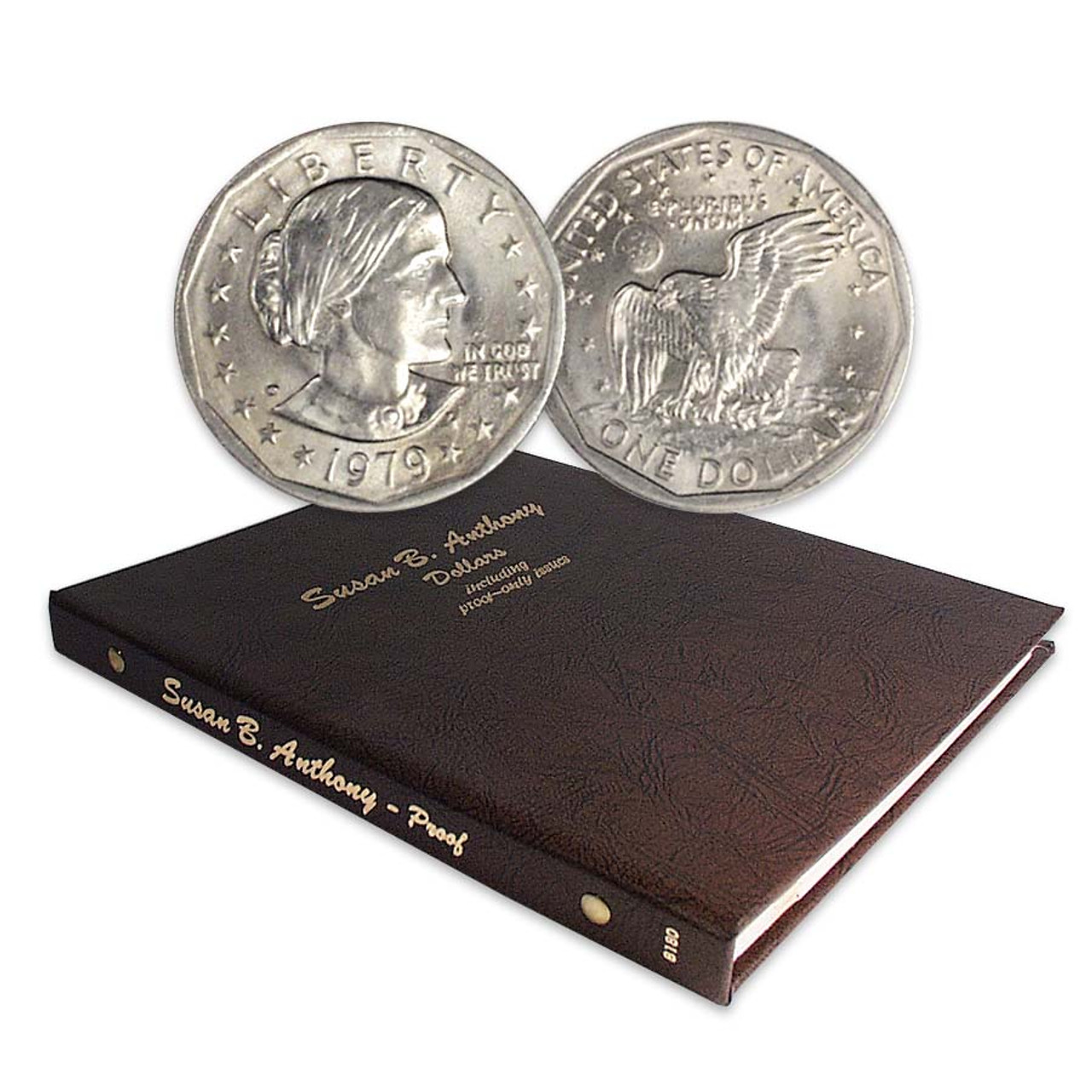 1979-1999 Susan B. Anthony (without Type II Proofs) Set with FREE Album