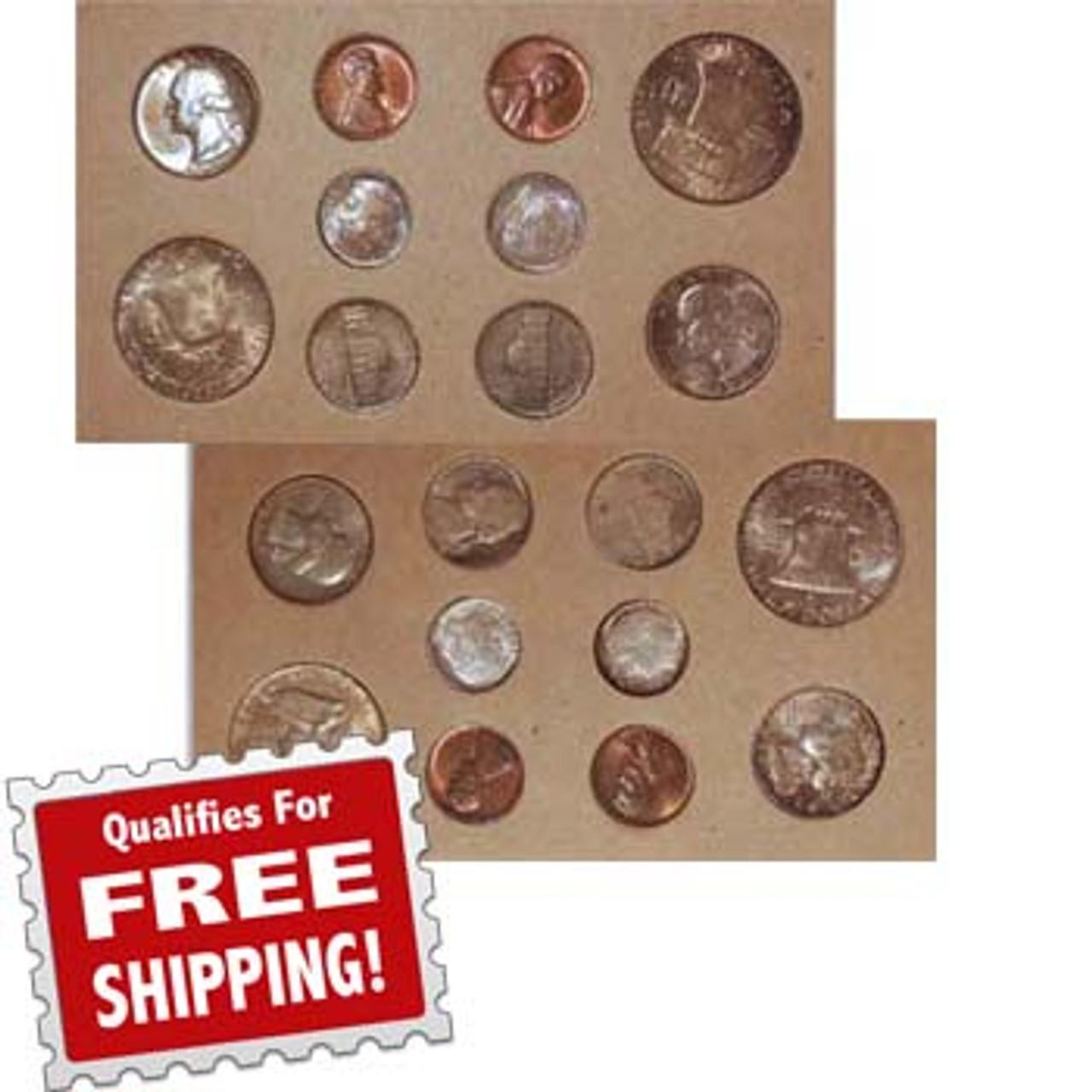 1957 Mint Set 20 Coins Image 1
