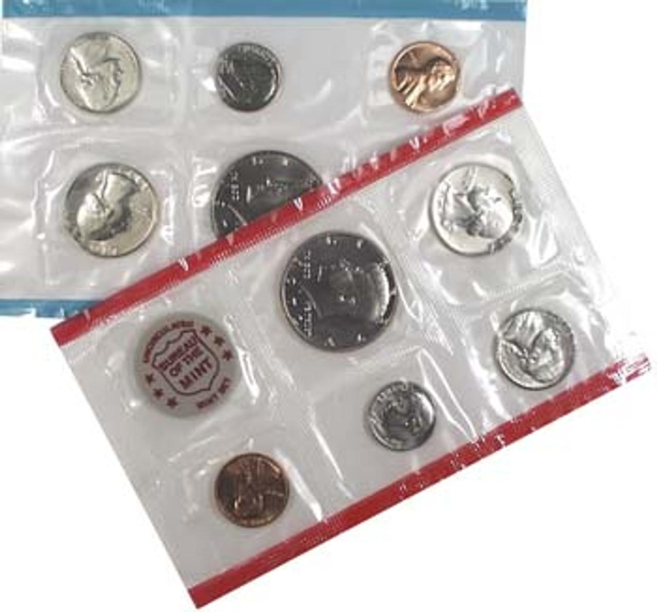 1972 Mint Set 11 Coins Image 1