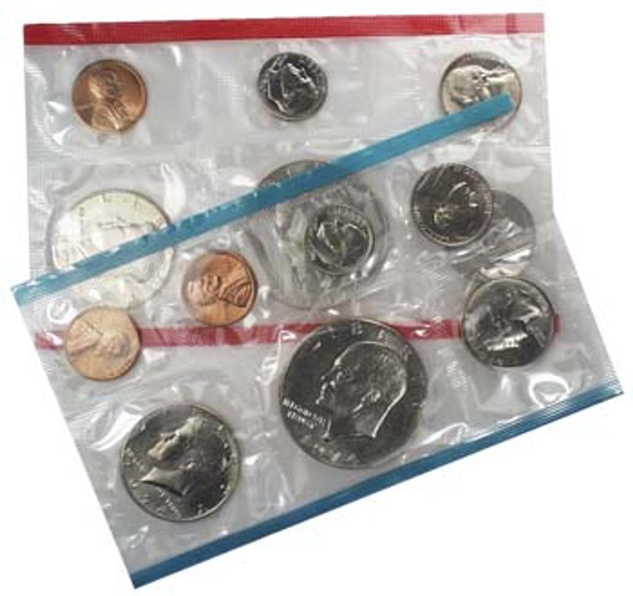 1974 Mint Set 13 Coins Image 1