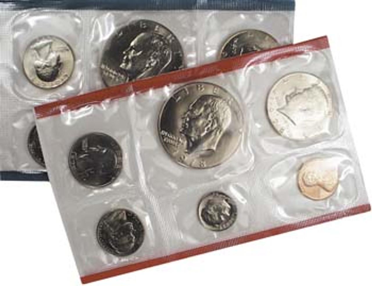 1978 Mint Set 12 Coins Image 1