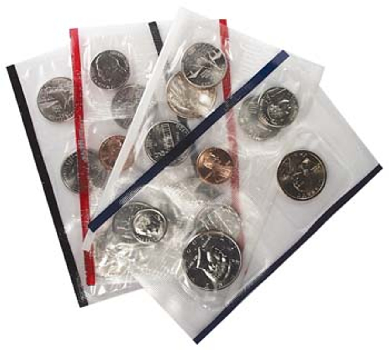 2001 Mint Set 20 Coins Image 1