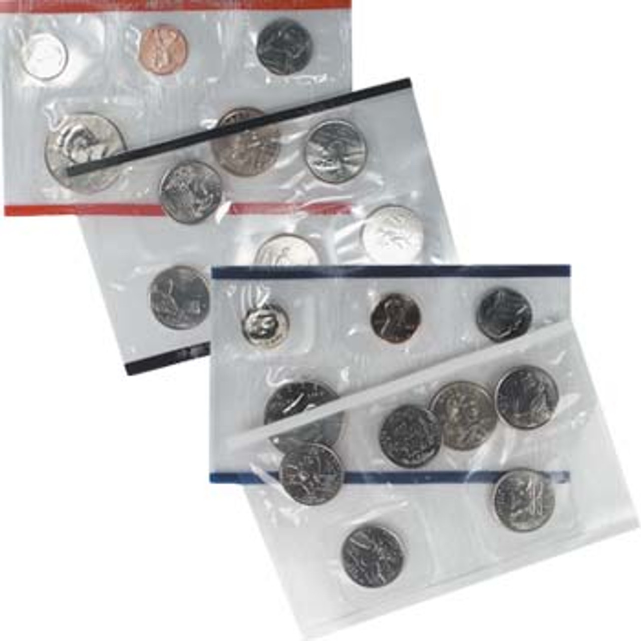 2003 Mint Set 20 Coins Image 1