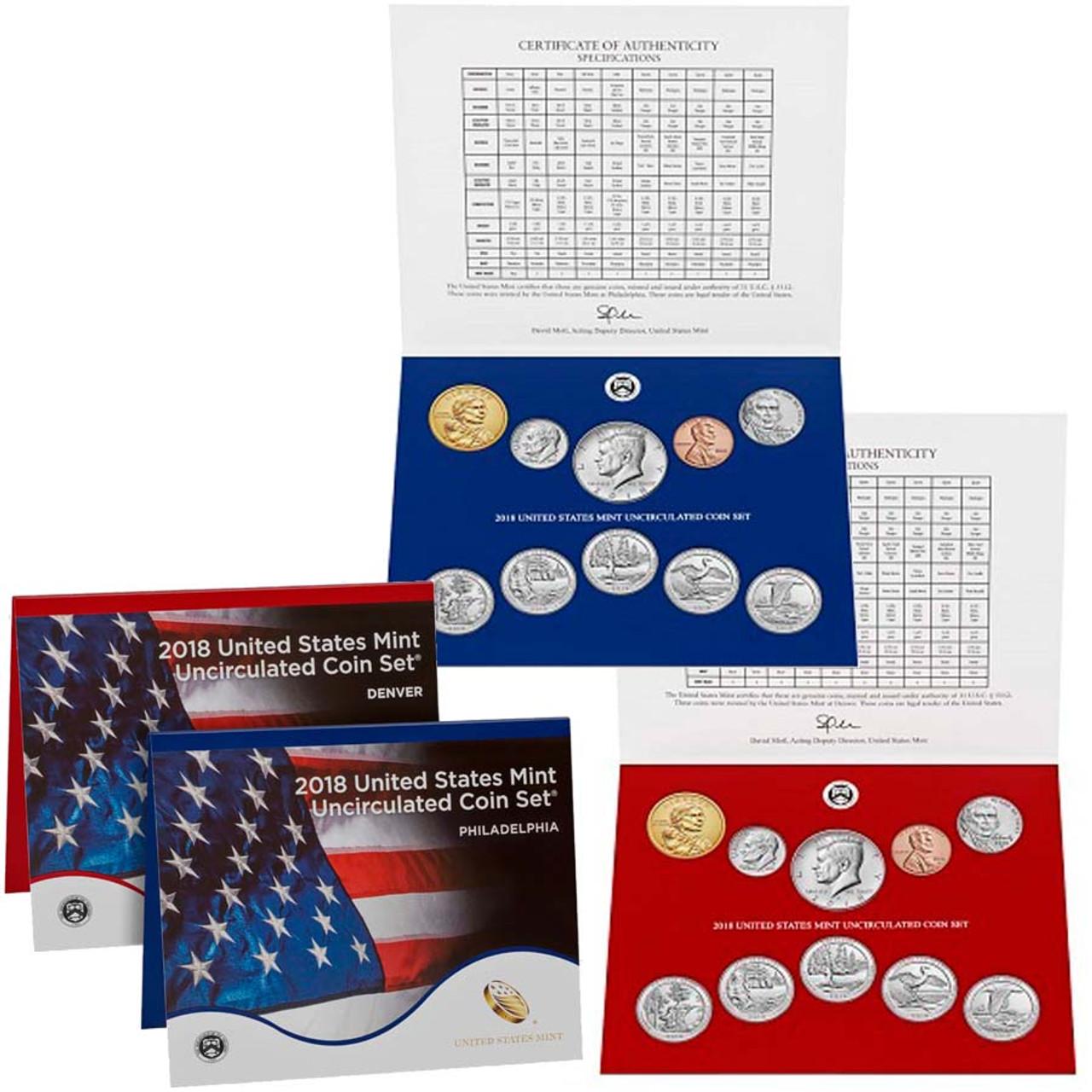 2018 Mint Set 20 Coins Image 1