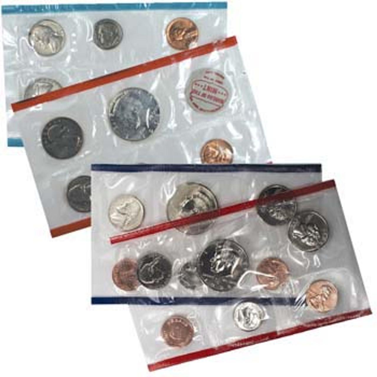 1968 & 1998 U.S. Mint Sets
