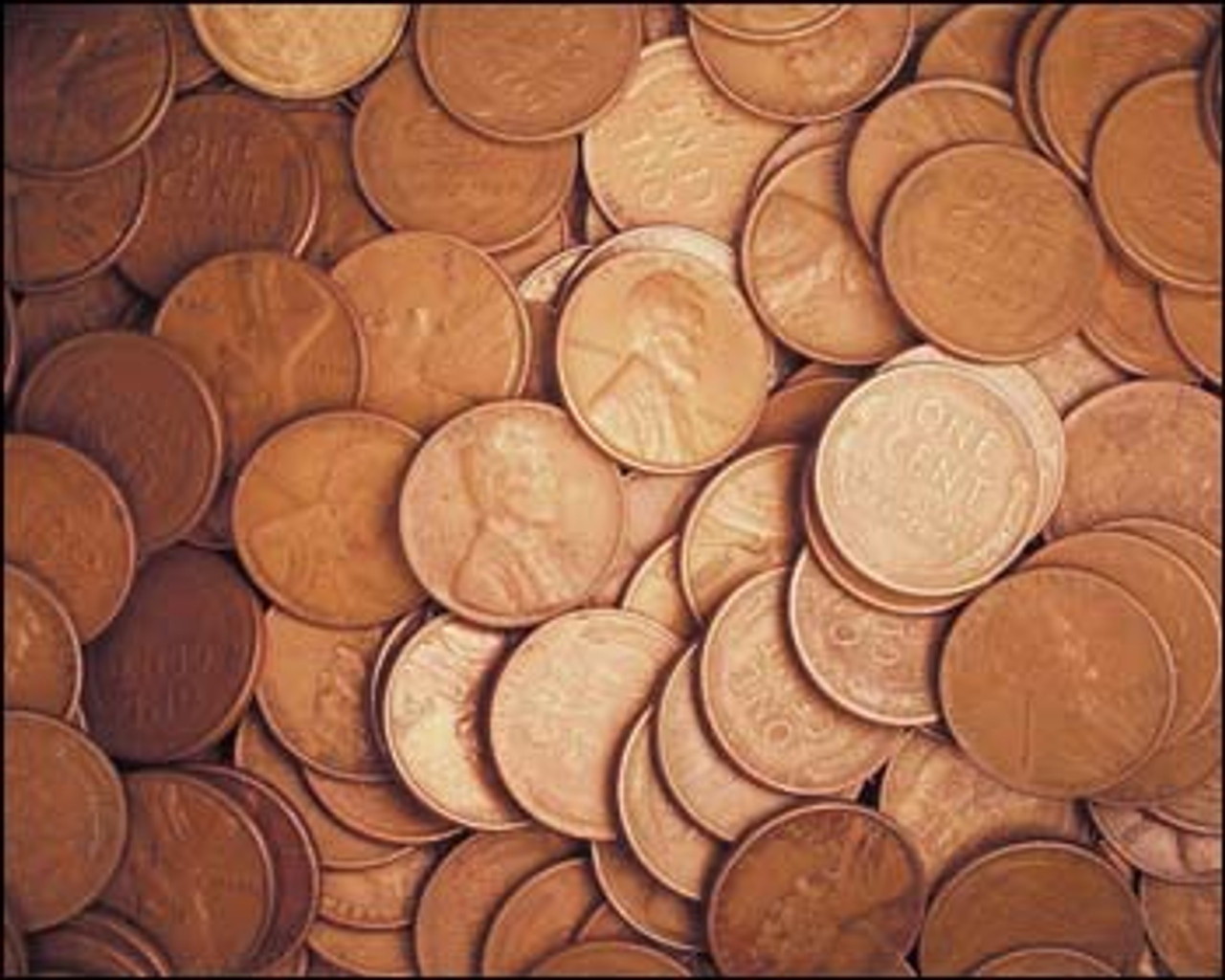Lincoln Wheat Cents Set of 100 Good or Better