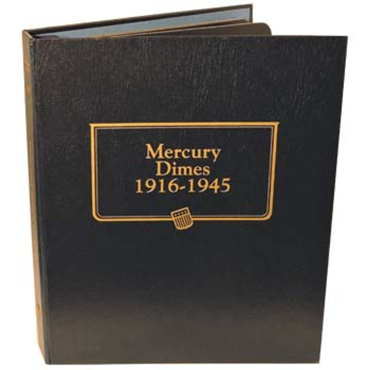 Deluxe 1916-1945 Mercury Dime Album Image 1