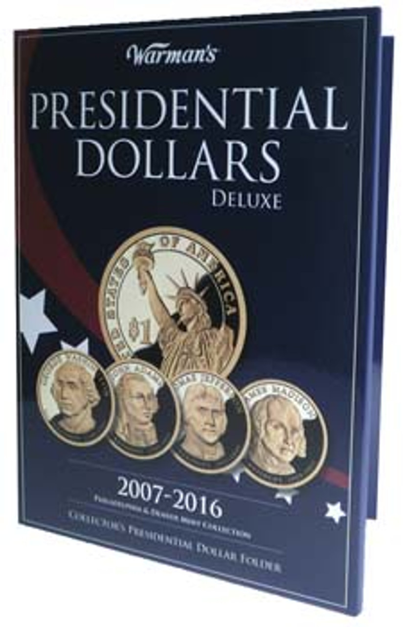 PRESIDENTIAL DOLLARS COLLECTORS ALBUM WHITMAN VOL#1