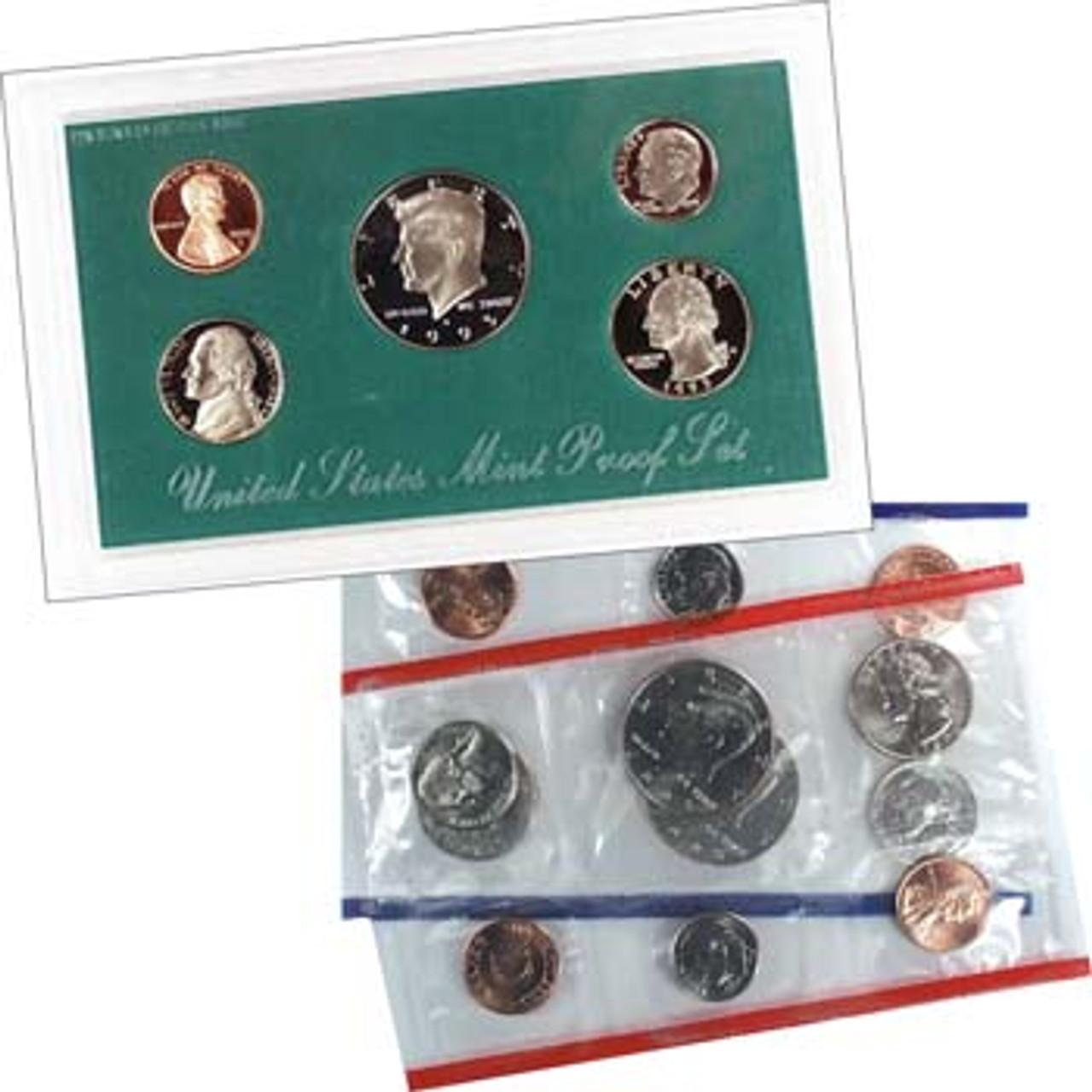U.S. 1995 Proof & Mint Set Pair