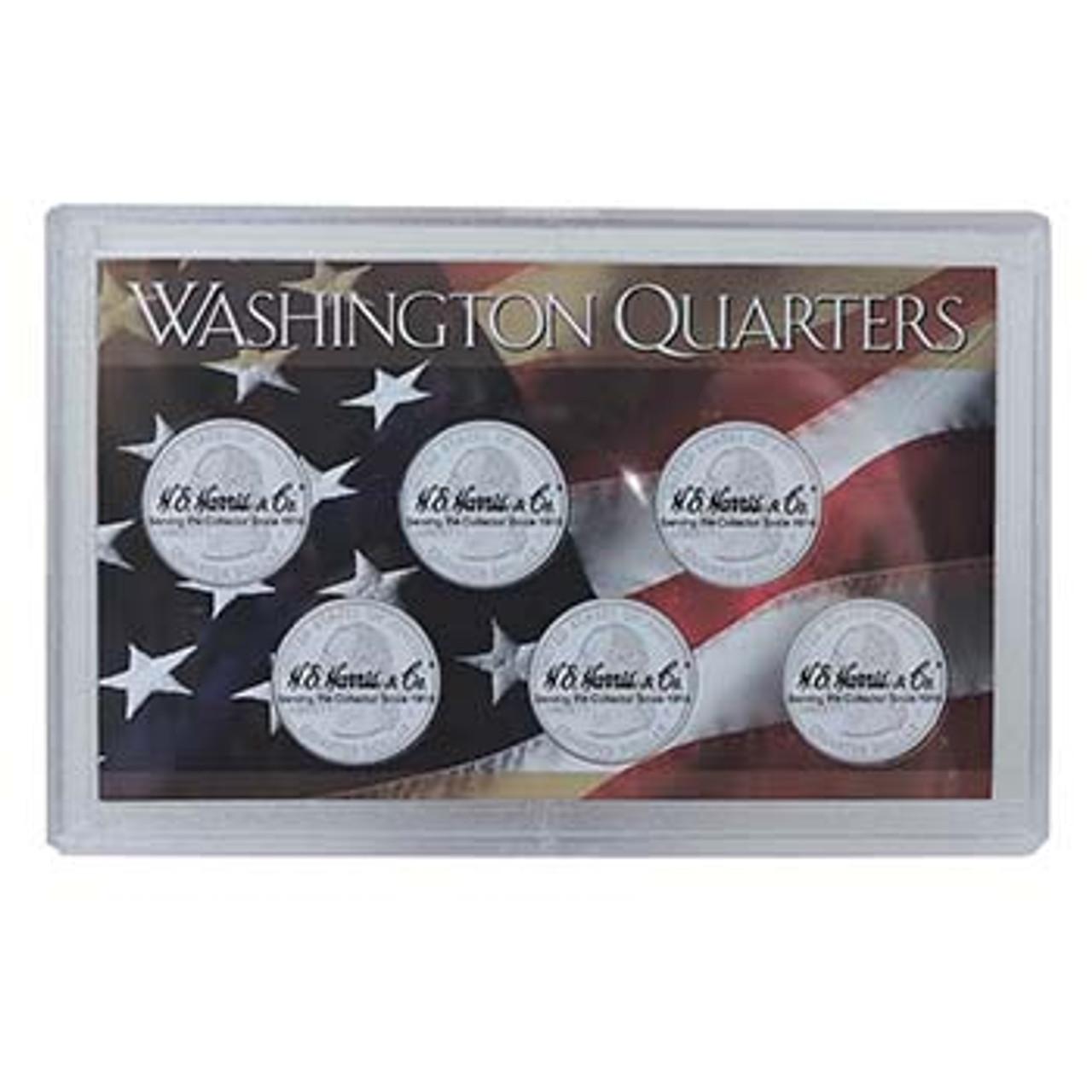 Harris Washington Quarter 6 Coin Case Image 1