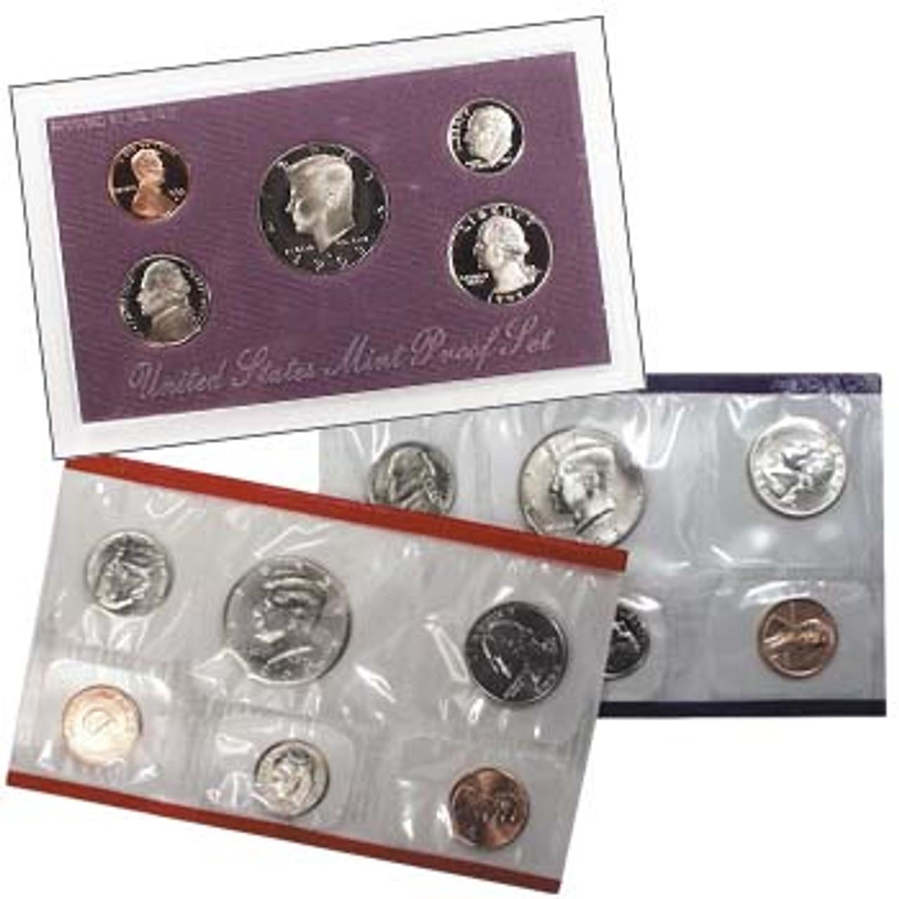 1993 Proof & Mint Set Pair